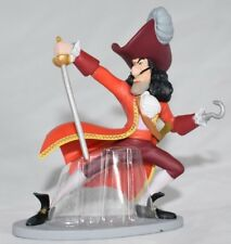 Disney Store CAPTAIN HOOK Figure Figurine Cake Topper PETER PAN Pirate Toy NEW
