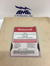 Honeywell 621-6551 Output Module 621 6551