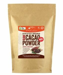 Raw Cacao Powder Certified Organic Chef's Choice 300g & 1kg Bags