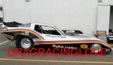 "Tom ""Mongoose"" McEwen 1979 ""English Leather"" Corvette NITRO Funny Car PHOTO! #6"