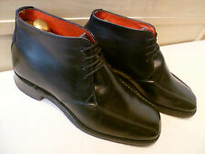 Jeffery West full leather ankle boot UK 8.5 42.5 sq toe tramline Croaker chukka