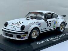 Fly 88141 Porsche 934 White #16 1976 Trans-Am Champion - George Follmer