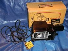 KM138 Vtg Old Kodak Kodaslide Merit Slide Projector w/Box