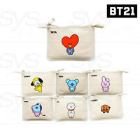 BTS BT21 Official Authentic Goods PVC Mini Pouch 7Characters By Kumhong +Track #