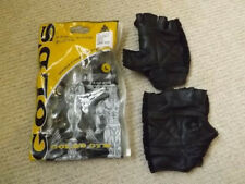 GOLDS GYM Mesh Back Weight Gloves - Black, LARGE IN MINT COND LEATHER