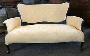 French Louis XV Two Seater Settee