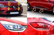 Renault Clio IV Door Streamer + Grill + headlamp + rear lamp = SET 12 pcs.