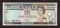 FIJI (1987) 1 DOLLAR QUEEN ELIZABETH NOTE UNC P-86a SIGN S.SIWATIBAU D/9158450