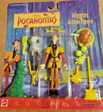 Disney's Pocahontas Wiggins Action Figure Mattel 66509 Arcotoys Rare New NRFP