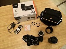 Sony Alpha A6000 Mirrorless Digital Camera With 16-50mm and 55-210mm Lenses