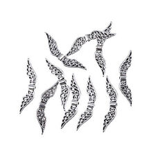 angel wing Tibetan Silver Wing Spacer Charms beading DIY Jewellery 32*7mm