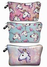 "UNICORN Cosmetic Makeup Bag Toiletry Bag ""Aussie Seller"" Pencil Case Travel Pack"