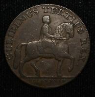 Conder Token Great Britain-Yorkshire 1/2d Penny 1791 Hull Gulielmus Tertius Rex