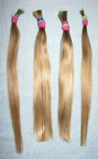 HUMAN HAIR (4) BLONDE PONYTAILS FROM 10 YEAR OLD CHILDS HAIRCUT REBORN DOLLS F83