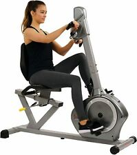 Magnetic Recumbent Exercise Bike w/Arm Exerciser - Delivered in apx 5 days
