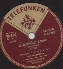 Blasorchester Carl Woitschach : Kuckucks-Rheinländer + In festlicher Laune