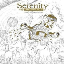 Serenity Adult Coloring Book [New Book] Adult Coloring Book, Paperback