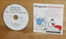 Diogenes Hörbücher / Hörproben Frühjahr 2006