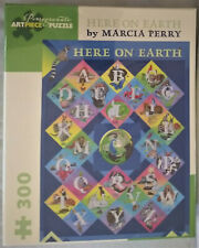 Marcia Perry - HERE ON EARTH: 300 PIECE PUZZLE (Pomegranate Artpiece Puzzle)