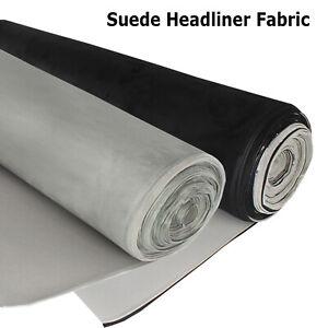 Vehicle Headliner Fabrics Roof Lining Suede Foam Custom to Fit Restoring Sagging