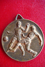 Rare Old Italy Football Soccer Csi Centro Sportivo Italiano Bronze Sign Medal