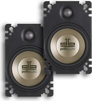 "AUTHENTIC POLK AUDIO DB461P 4x6"" 2-WAY CAR AUDIO PLATE SPEAKERS (PAIR)SHIPS FAST"