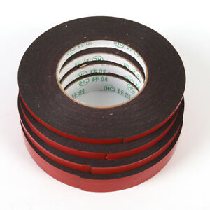 10MStrongPermanent Double-Sided Adhesive Glue Tape Super Sticky With Red Lin3`