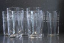 Drinkware/Stemware Engraved Date-Lined Glass