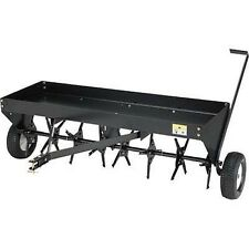 "Plug Aerator - Tow Behind - 48"" Long - 32 Spikes - Industrial Grade"