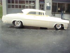 Moebius 1/25 scale 55 Chrysler Pro Street Floor Pan, PLEASE READ DESCRIPTION