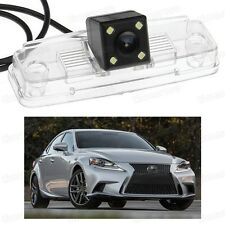 4 LED Car Rear View Camera Reverse Backup CCD for Lexus IS 250 / 350 2014-2016