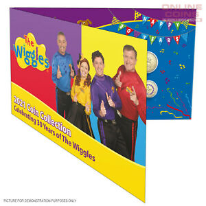 2021 RAM 30 Years of Wiggles - Six Coin Collection