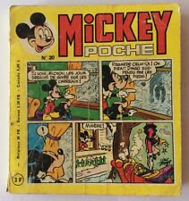 MICKEY POCHE n° 20 de Décembre 1975 Album BD Walt Disney
