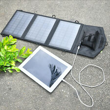 Outdoor Papier größ 10.5W Foldable USB Solar Panel Charger Ladegerät Waterproof