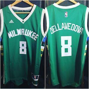 Matthew Dellavedova Milwaukee Bucks Road Swingman Jersey