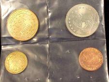 Four Replica CONFEDERATE COINS