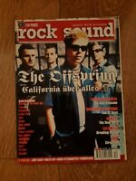ROCK SOUND MAGAZINE ( 19 ) DEC 2000 THE OFFSPRING MARILYN MANSON SOULFLY SNOT