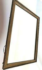 Vintage Mirror Antique Brass Decor