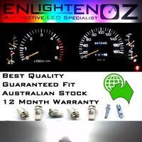 White LED Dash Gauge Light Kit - Suit Toyota Landcruiser 90-98 80 Series 12V