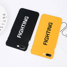 Cute Pattern Shockproof Ultra-thin Hard Case Cover For Apple iPhone X 8 6 7 Plus