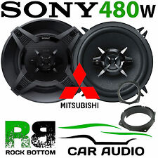 Mitsubishi Colt 2005 Onward SONY 13cm 480 Watts 3 Way Rear Door Car Speaker Kit