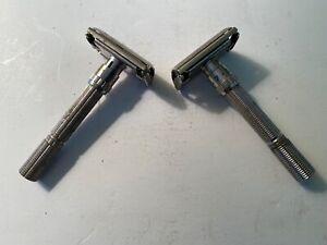 Gillette Adjustable Razors H-1 and I-2