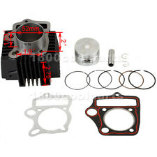 52mm Cylinder Piston Pin Ring Gasket Kit for 110cc ATVs & Dirt Bikes, Go Karts