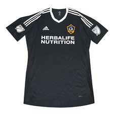 LA Galaxy MLS Adidas Men's Black Short Sleeve Goalkeeper Jersey