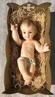 Vintage 1958 The Most Wonderful Story Ideal Toy Manger Baby Jesus IDEAL TOY 1958