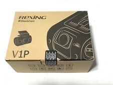 "Rexing Dashcam V1P Duel Front & Rear Cams Wide Angle 2.4"" LCD Screen ~BRAND NEW"