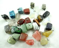 5PC/20PC/50PC/100PC Nature Stone Chips Tumble Pendant Bead Size about: 6-20mm