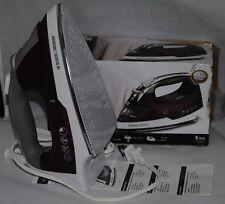 Black & Decker and IR14V Quick Press electric Iron  Burgundy White