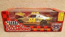 1998 Racing Champions 1:24 NASCAR Bill Elliott McDonald's Gold Mac Tonight Ford
