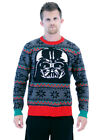 Adult Unisex Holiday Wear Star Wars Darth Vader Mask Ugly Christmas Sweater UCS